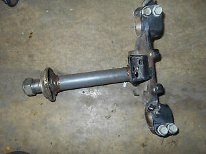 honda xl250s steering stem bottom fork clamp bracket lower under xl250 1981 1980 $68.00