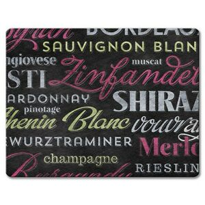 Cutting Board-Wine Tasting--Small Cutting Board 8