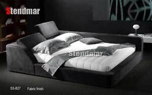 NEW MODERN EURO DESIGN PLATFORM BED SB027
