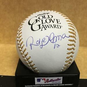 ROBERTO ALOMAR #12 GOLD GLOVE SIGNED UNDER LOGO BASEBALL SIGNED BASEBALL W COA $74.98