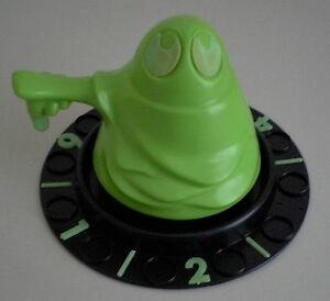 transogram green ghost game ghost spinner base