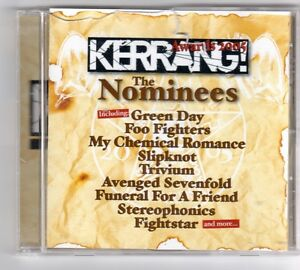 GQ779 The Nominees 15 tracks various artists 2005 Kerrang CD