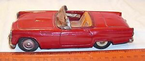 bandai 1955 ford thunderbird tin toy