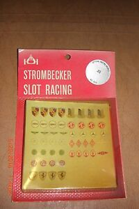 vintage strombecker decals new