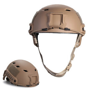 TOMOUNT Military Tactical Gear Airsoft Paintball SWAT Protective Fast Helmet