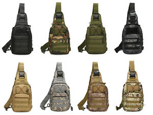 Outdoor Shoulder Military Tactical Backpack Travel Camping  Hiking Trekking B