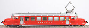 marklin ho 3125 swiss red arrow railcar ex