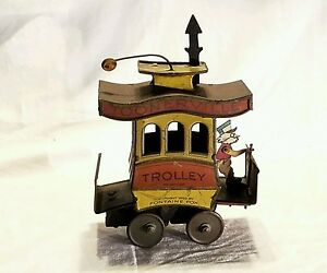 toonerville trolly wind up fontaine fox