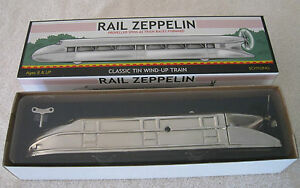 rail zeppelin no 0547 wind up toy by