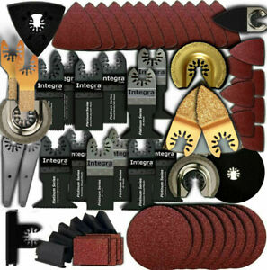 249pc: Variety Pack Oscillating Multi Tool Saw Blade fits Fein Multimaster,BOSCH
