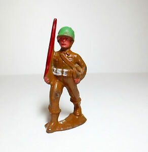 lead toy soldier figure parade m178 barclay
