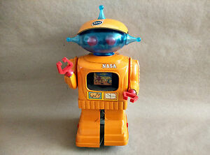 near mint 60s spain nasa space toy robot