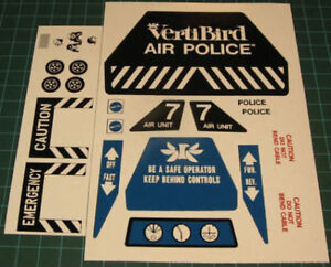 air police 7604 vinyl reproduction decal set