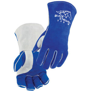 Revco 320 Comfort Lined Cowhide High Quality Stick Welding Gloves Size Large $15.95