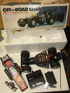 vintage off road champ radio controlled dune