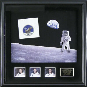 NEIL ARMSTRONG - EPHEMERA SIGNED CO-SIGNED BY: MICHAEL COLLINS