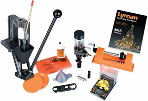 New Lyman Crusher Expert Reloading Kit Deluxe Single Stage Press 7810149
