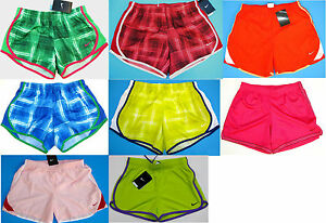 New 1Pair Nike Youth Girl TrainingRunning Lined Shorts Various Sizes