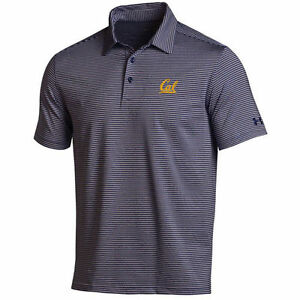 Cal Bears Under Armour Kirkby Performance Polo - NavyGray - NCAA