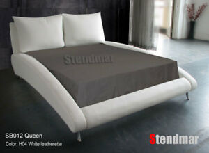 QUEEN NEW MODERN EURO DESIGN PLATFORM BED SB012