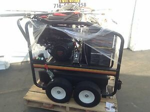 New Commercial Mi-T-M Pressure Washer HSP-3504-3MGH Honda GX390 Engine Hot Water