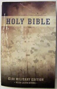 HOLY BIBLE E100 NABRE MILITARY EDITION PAPERBACK w LECTIO DIVINA NEW RELIGIOUS