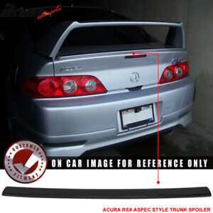 Fits 02 06 Acura RSX Unpainted Aspec Style Trunk Spoiler Deck Lid ABS $73.99
