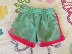 Under Armour Toddler Girl Track Shorts size 5