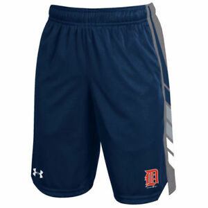 Detroit Tigers Under Armour Youth Select Shorts - Navy - MLB