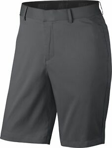 Nike Golf 2017 Flat Front Shorts 833222 - Dark Grey - Pick Size