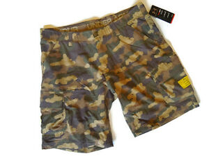NEW mens UNDER ARMOUR athletic SHORTS STORM GRIT CARGO ~ size 38