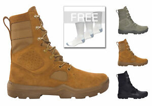 Under Armour 1287352 Men's FNP Tactical Boots W FREE 3 Pairs of Socks