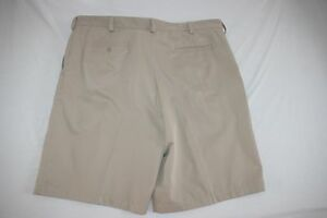 Nike Golf Dress Shorts Fit Dry Men 42 Beige NEW