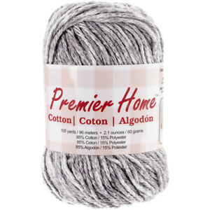 Premier Yarns Home Cotton Yarn Multi Grey Splash