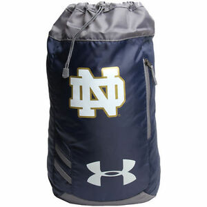 Notre Dame Fighting Irish Under Armour Trance Sackpack - Navy - NCAA