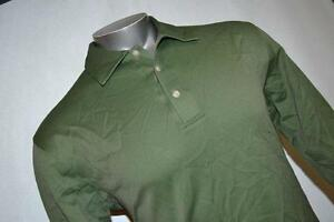 8556-t Mens Nike Tiger Woods Golf Polo Shirt Fit Dry Green Size M Medium