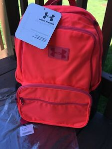 NWT UNDER ARMOUR Girl's Youth UA Great Escape Backpack Neo Pules Kids