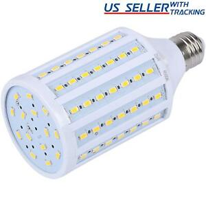 5-Pack 125W Eq. LED Bulb 90-Chip Corn Light E26 2200lm 20W Soft Warm 3000K 5X