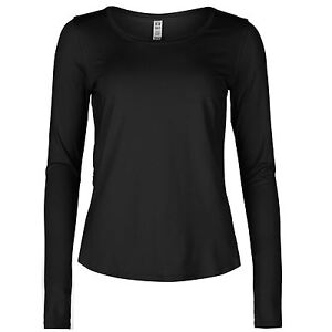 Under Armour Womens Fly By Running T Shirt Breathable Long Sleeve Round Neck Top
