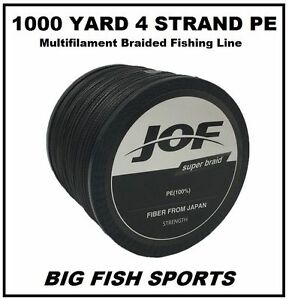 1000M Super Strong 4 Strand Pro PE Power Braided Fishing Line 1000 YD NEW