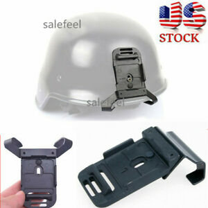 US Helmet Mount WScrew Accessory For ACH MICH Helmet NVG PVS-7 14 NV Goggle