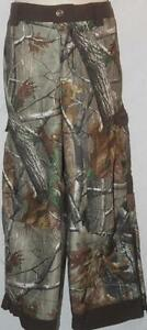 Under Armour Boy's Pants Camouflage Fleece Lined Brown Size YXL FREE SHIPPING!
