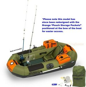 Sea Eagle Packfish 7 Pro Portable Inflatable Fishing Boat Raft Make Best Offer
