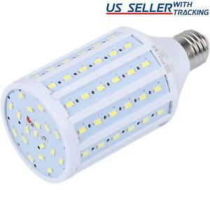 125W Equivalent LED Bulb 90 Chip Corn Light E26 2200lm 20W Cool Daylight 6000K