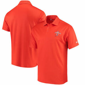 Auburn Tigers Under Armour Solid Performance Polo - Orange