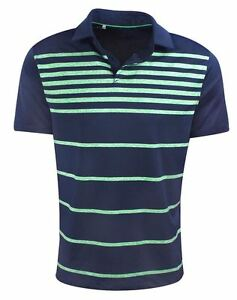 New Under Armour Golf- Scripting Coolswitch Brassie Stripe Polo White L