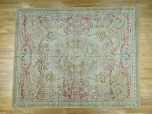 12'x15' Oversize Thick And Plush Savonnerie Louis Phillippe Design Rug R36824