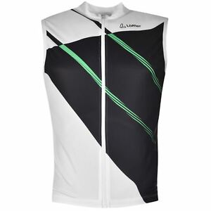 Löffler Mens PerfoFZ SL Jersey Sleeveless Cycle Cycling Sports Shirt Top