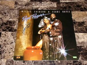 Isaac Hayes Rare Authentic Hand Signed Vinyl LP Record Chef South Park Shaft WOW
