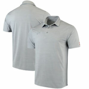 Auburn Tigers Under Armour Collegiate Playoff Performance Polo - Gray - NCAA